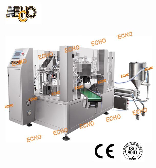 Liquid Detergent Fill-Seal Machine (MR8-200RY)