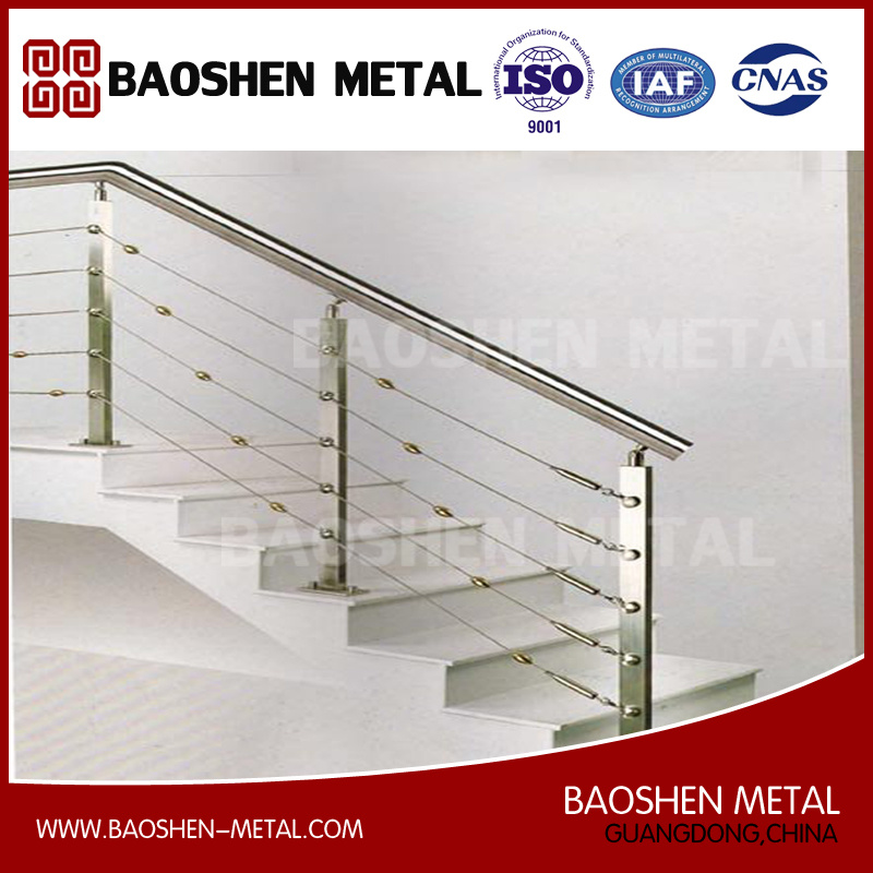 Stainless Steel Staircase Fence Handrail Furniture for Bar/Office/Home From Manufacturer