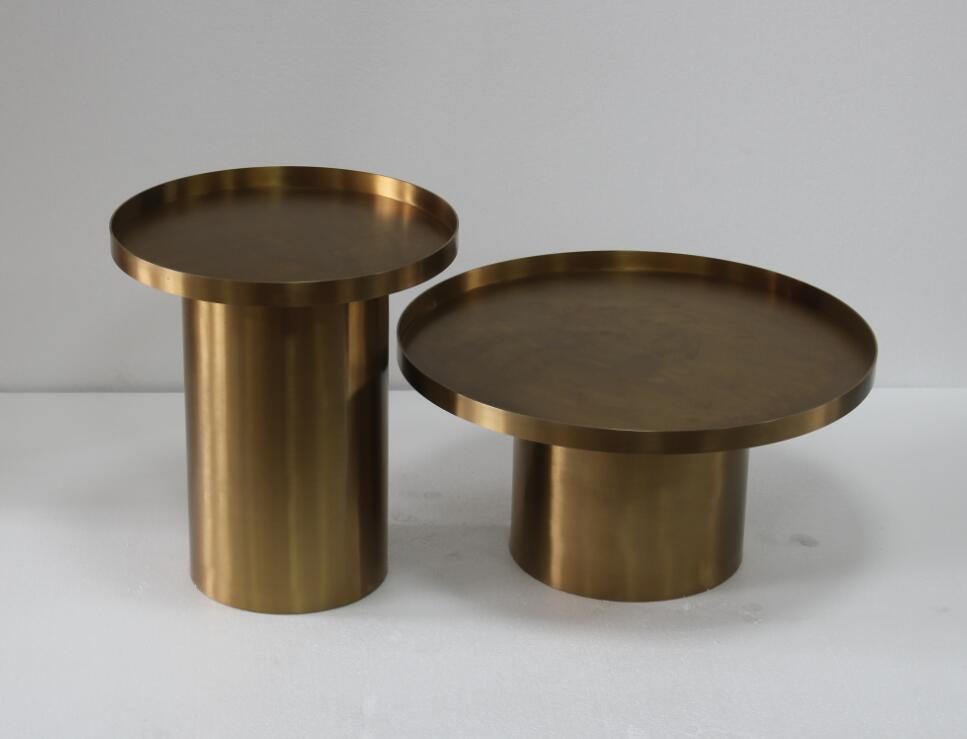 Classic Design Copper Tea Table