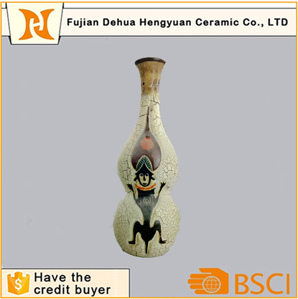 Hand Paint Porcelain Antique Decoration Vase