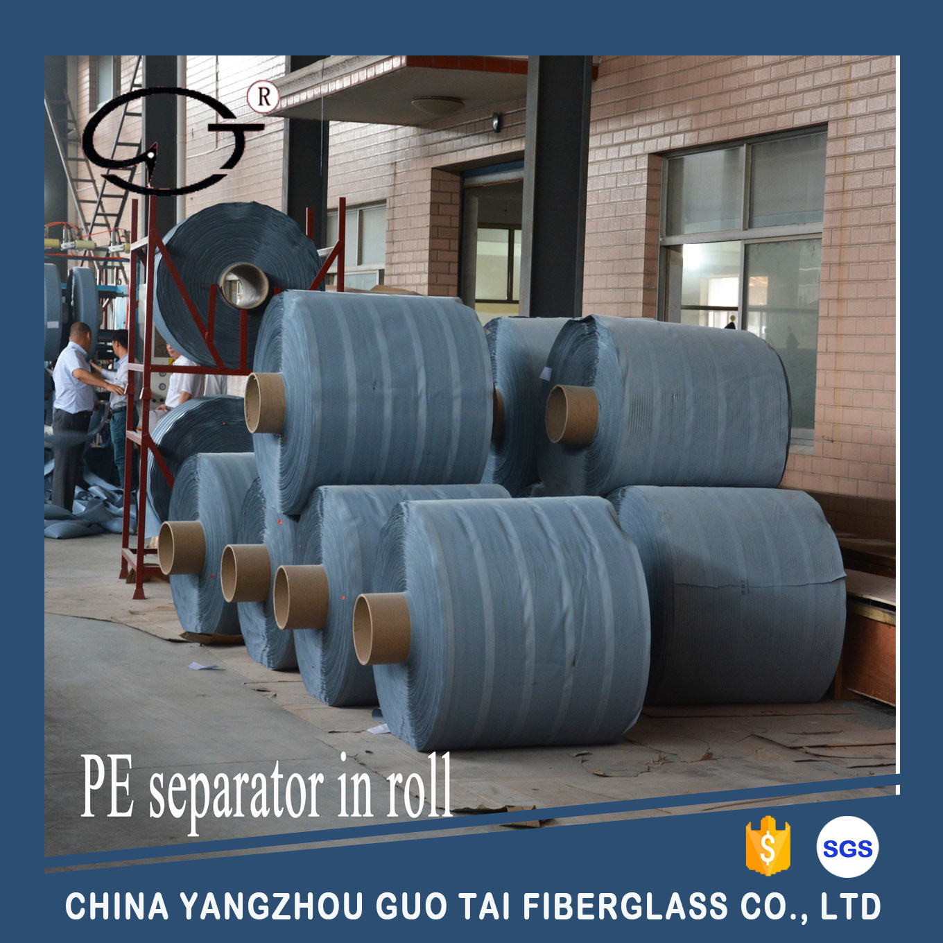PE Separator for Lead-Acid Storage Battery in Big Roll