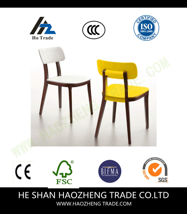 Hzpc120 Wooden Feet Plastic Chair Cushion