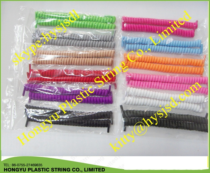Curly Elastic Lace/Spring Elastic Shoelace/No Tie Shoelace
