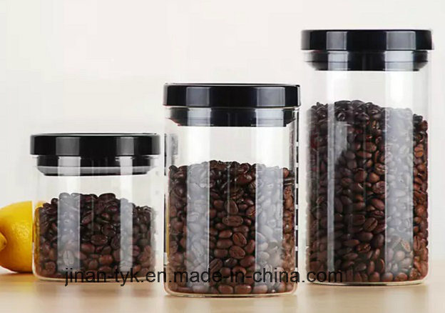 Apothecary Jar Castors Oil Bottle by Borosilicate Glass