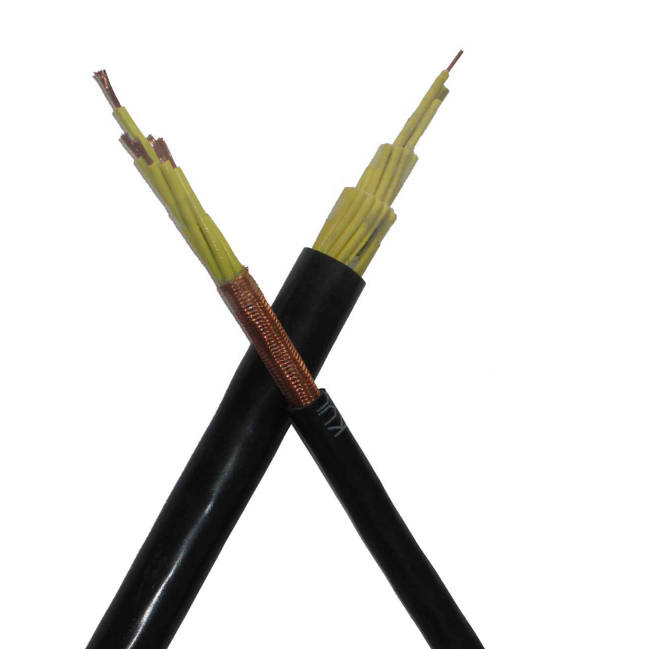 450/750V 2 Cores 0.75mm2 1mm2 2.5mm2 4mm2 6mm2 PVC Control Cable