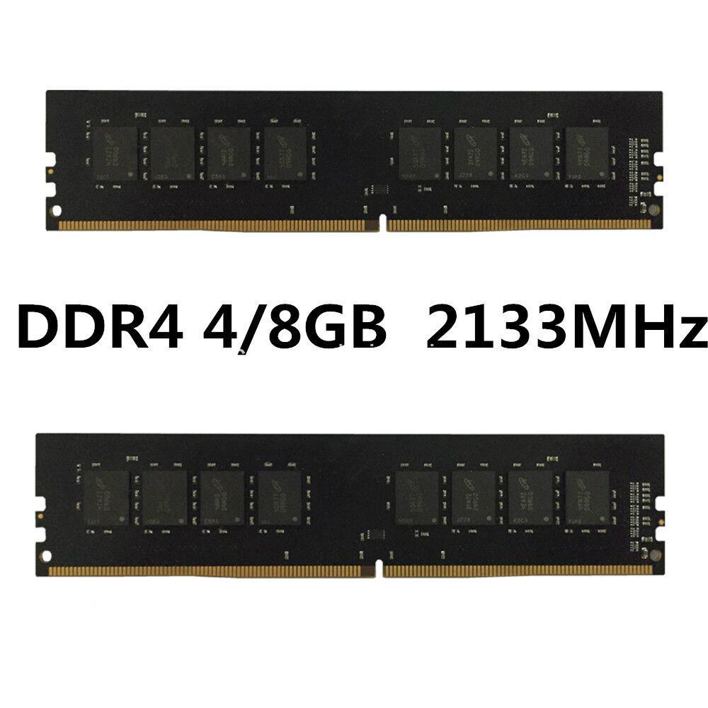 2017 Hot Sales Original Equipment Manufacturer DDR4 PC2133 Memory Capacity 4GB 8GB Computer RAM