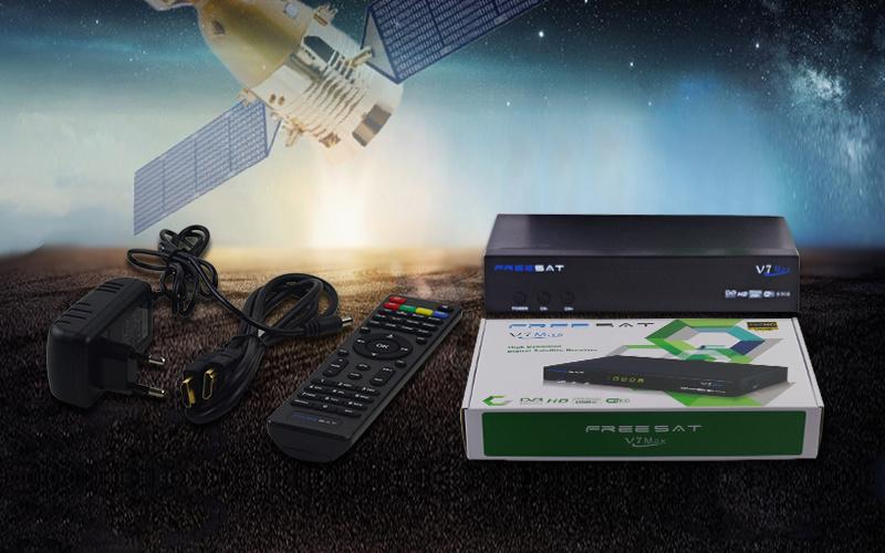 Freesat V7 Max DVB-S2 Full HD Digital Satellite Receiver