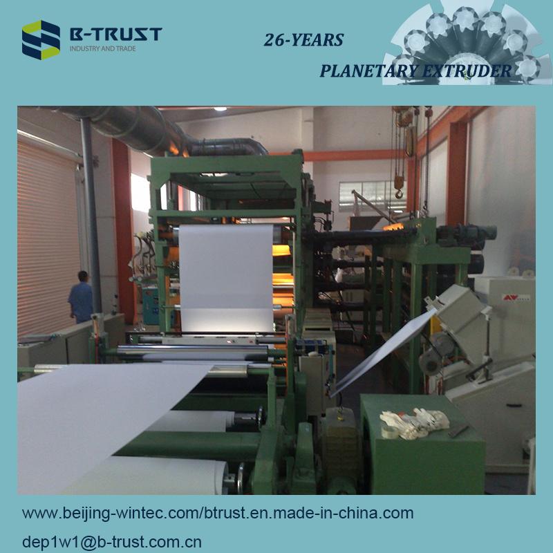 Wood Grain PVC Laminating Film Calender Line