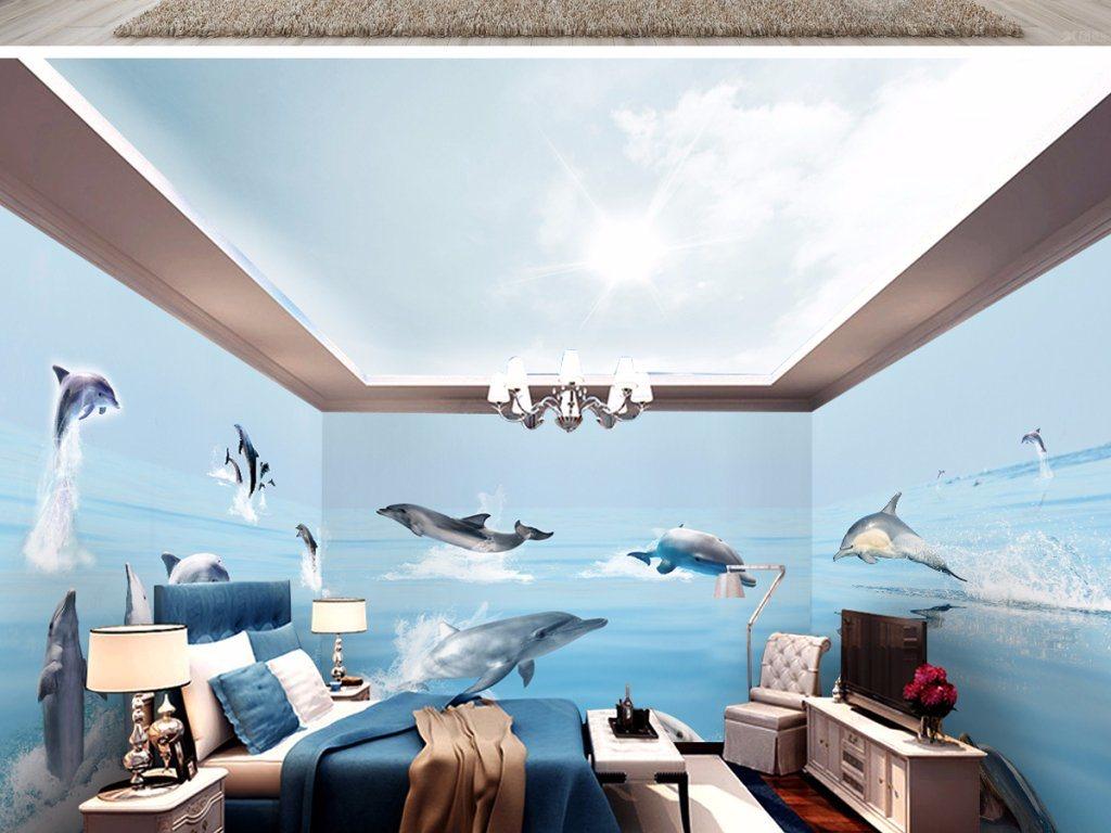 3D Design for Hotel Floor Tiles Bathroom Tiles
