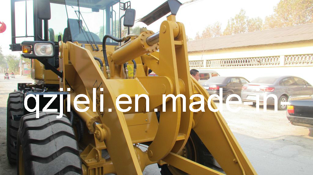 3 Tons Wheel Loader with Quick Hitch and Rops