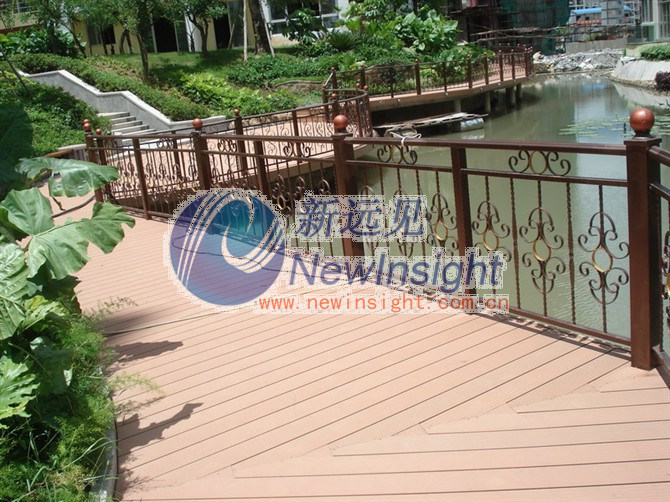 Composite deck plastic composite decking for Plastic composite decking