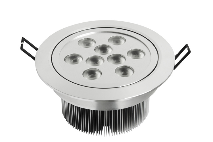 LED Downlight with CE and RoHS Approval (9X3W)