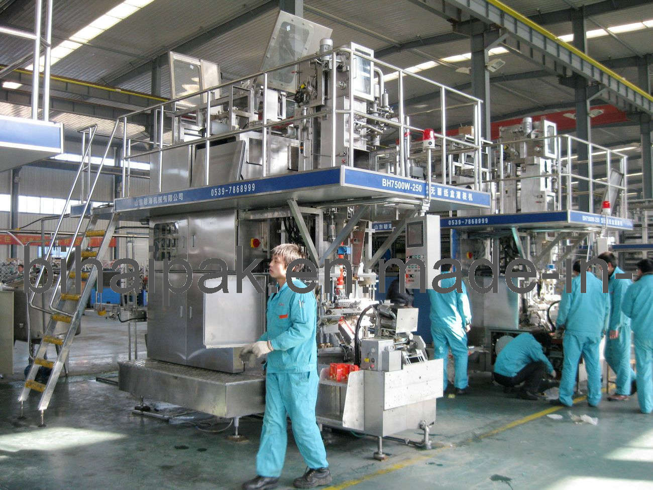 Atuomatic Filling Machine Same as Tera Pak