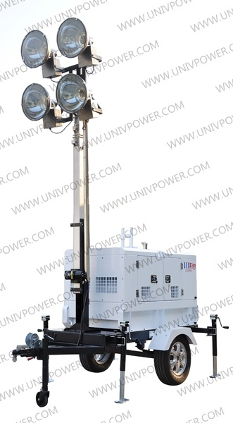 Diesel Engine Mobile Light Tower (ULT8E)