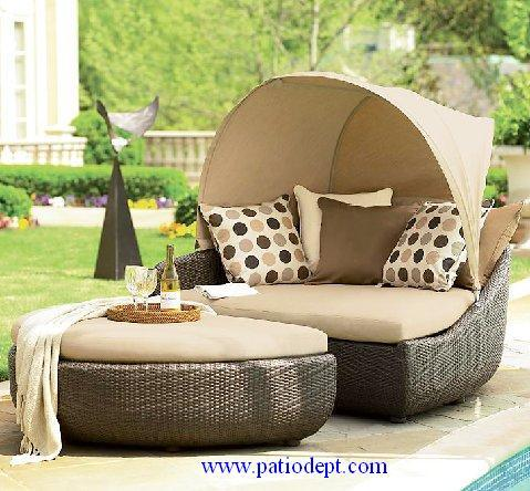 Outdoor / Rattan Furniture (YE-1963) - China Rattan Sofa, Wicker