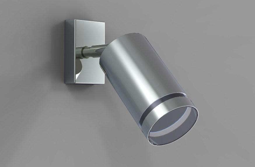 Wall Mounted Spot Lamps : China Surface Mounted Adjustable Single Wall Spot Lamp - China Spot Lamps, Spot Wall Light