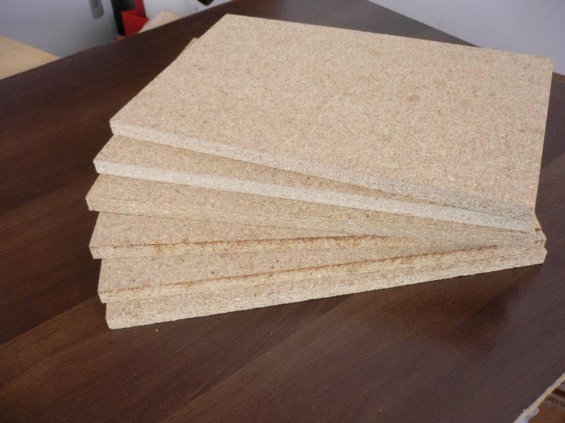 China mdf board wheat agri fibre particle