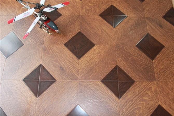 Parquet Style Laminate Flooring 419