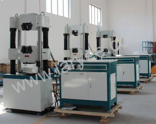 Computer Display Hydraulic Universal Tensile Strength Tester (WEW300-2000)
