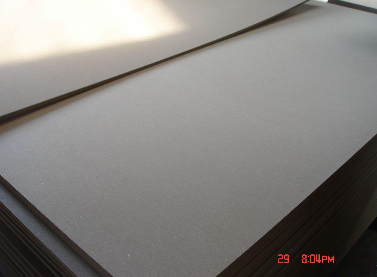 1 2 Fiberboard Protection Board ~ China white both side melamine laminated mdf