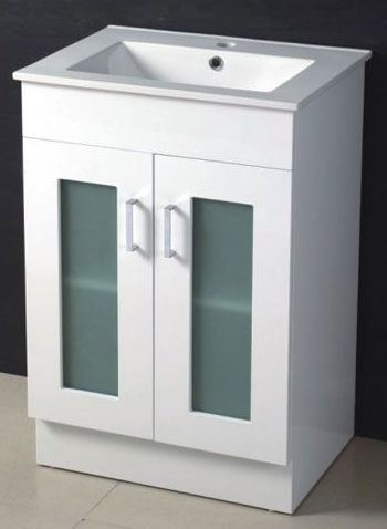 White Bathroom Vanity on Bathroom Vanity  High Glossy White Color   China Bathroom Vanity