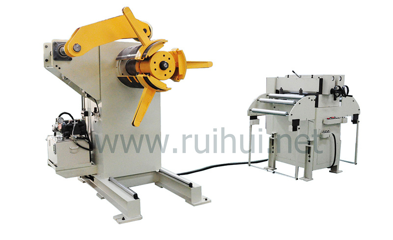 Automatic Machine Uncoiler with Straightener Use in Hardware Manufacturers