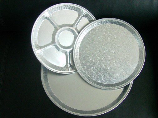 Round Foil Container Food Mould