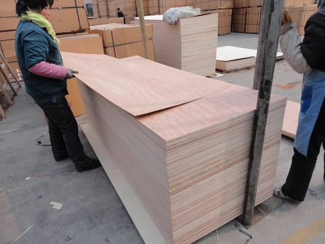 Door Size Okoume Veneer Decorative Plywood