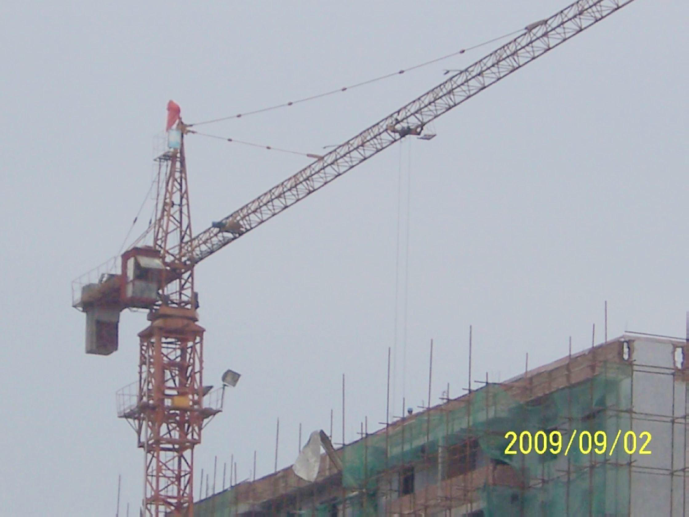 Tower Crane Productivity : China tower crane qtz i cranes