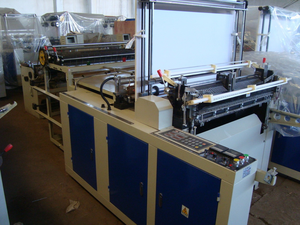 Cold Cutting Double Photocell Bag Making Machine