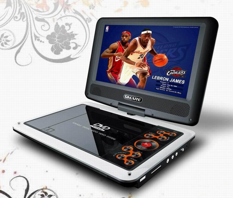 china 9 inch portable dvd with tv tuner pdvd 9013. Black Bedroom Furniture Sets. Home Design Ideas