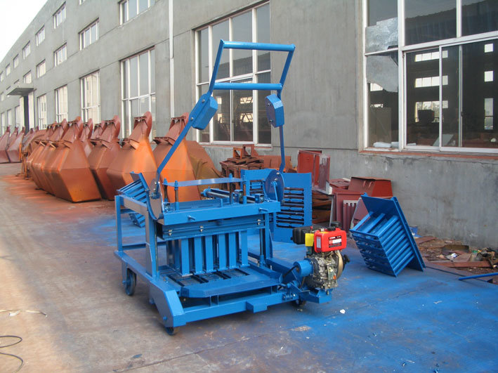 China Mobile Concrete Block Machine Brick Machine Photos