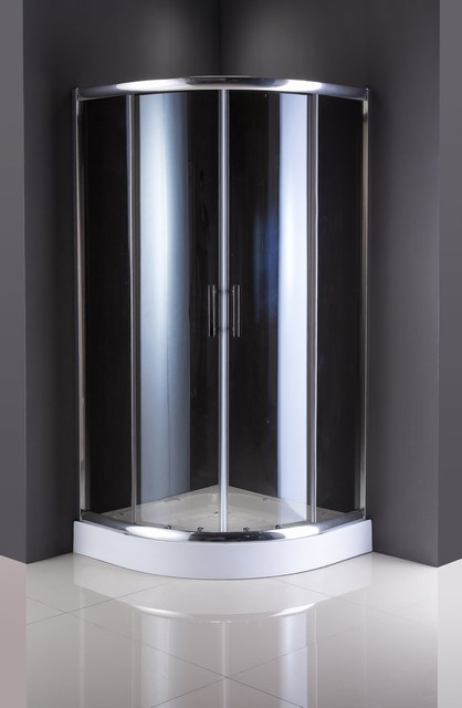 Sanitary Ware Shower Enclosure Tempered Glass Sliding Doors