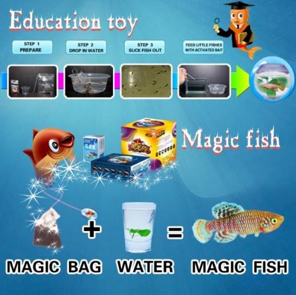 China educational toy or unique gift magic fish jfmfza for The magic fish