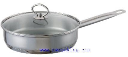 Stainless Steel Frying Pan Acero Inoxidable Sarten
