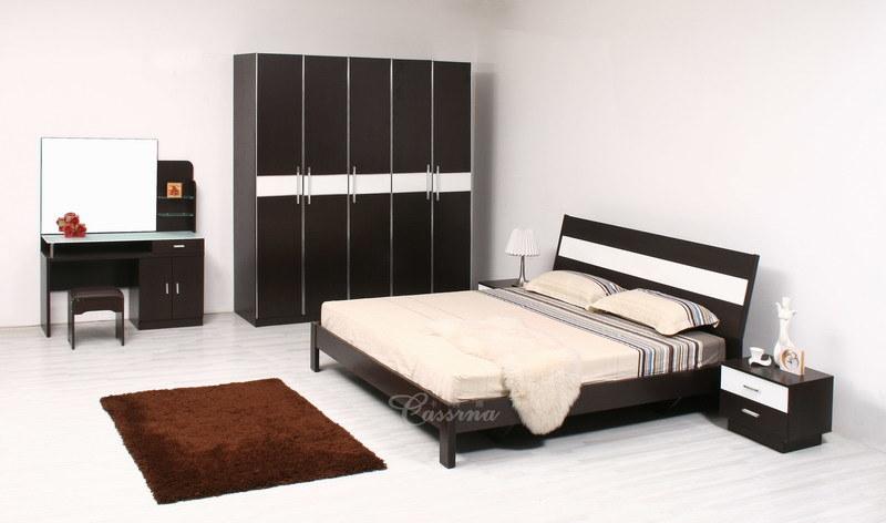 China Bedroom Furniture 8801A China Bed Wardrobe