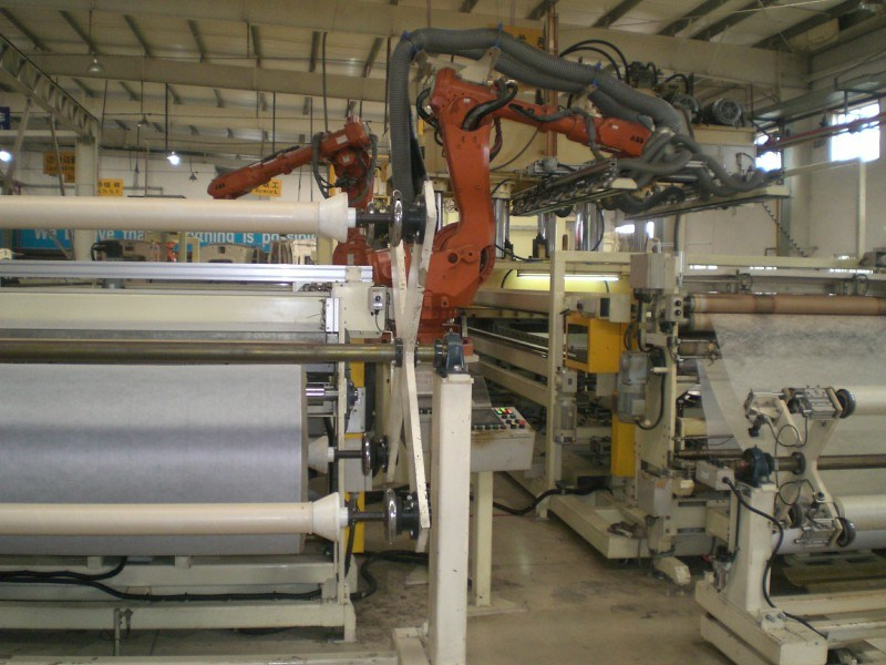 Water Jet Cutting Vehicle Carpet Production Line