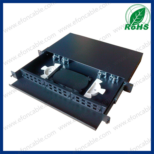 12/24 Ports Fiber Optic Rack Mount ODF
