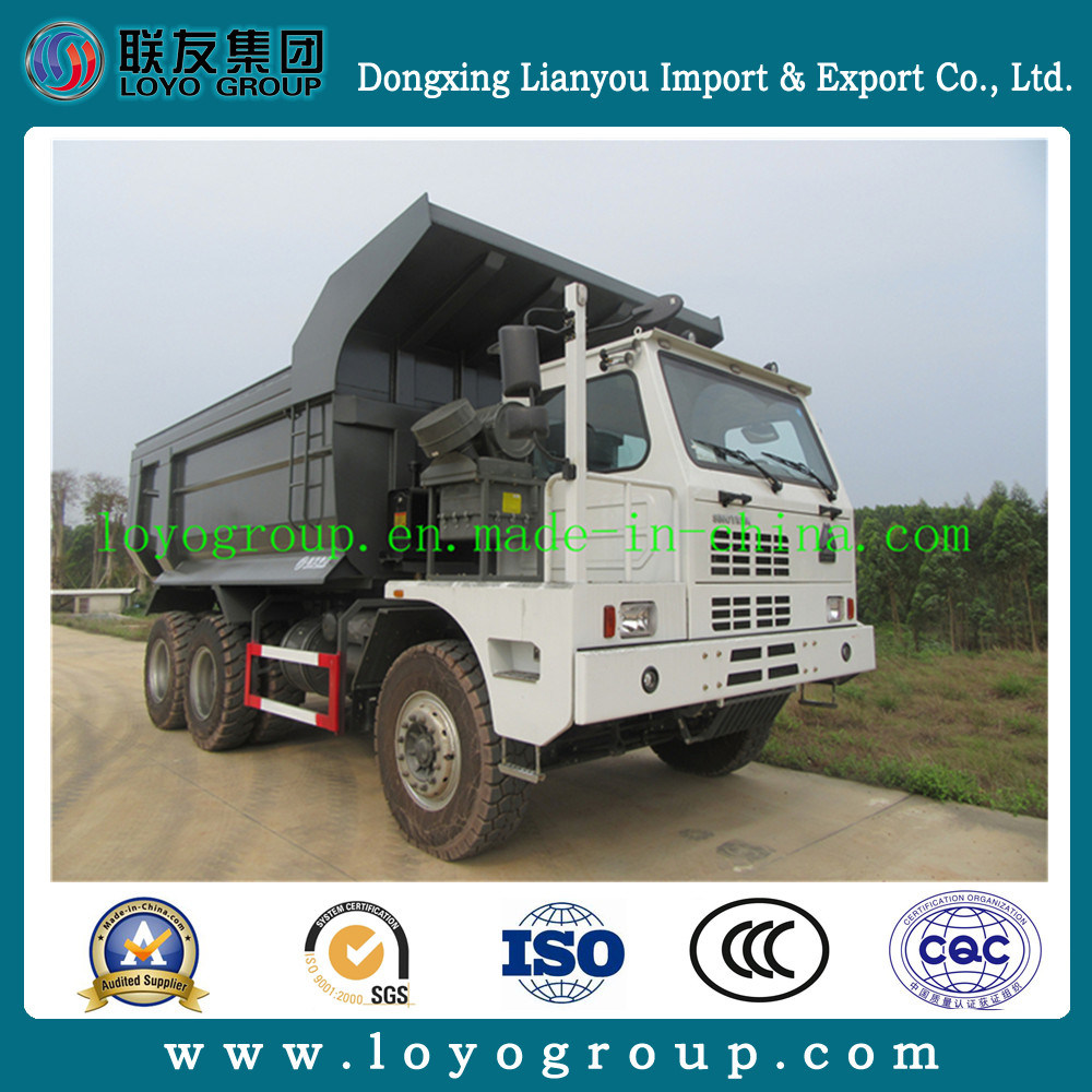 Sinotruk HOWO 10wheel 70ton Coal Mine Dump Truck for Sale