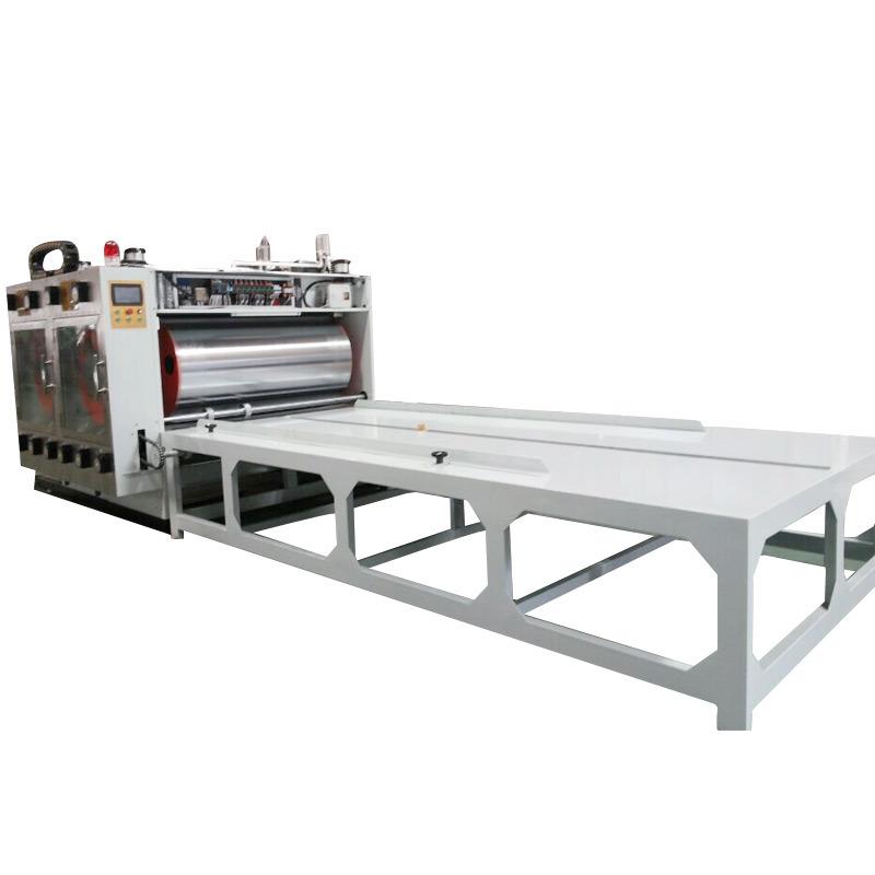 Semiautomatic Corrugated Carton Flexo Longway Printing Machine