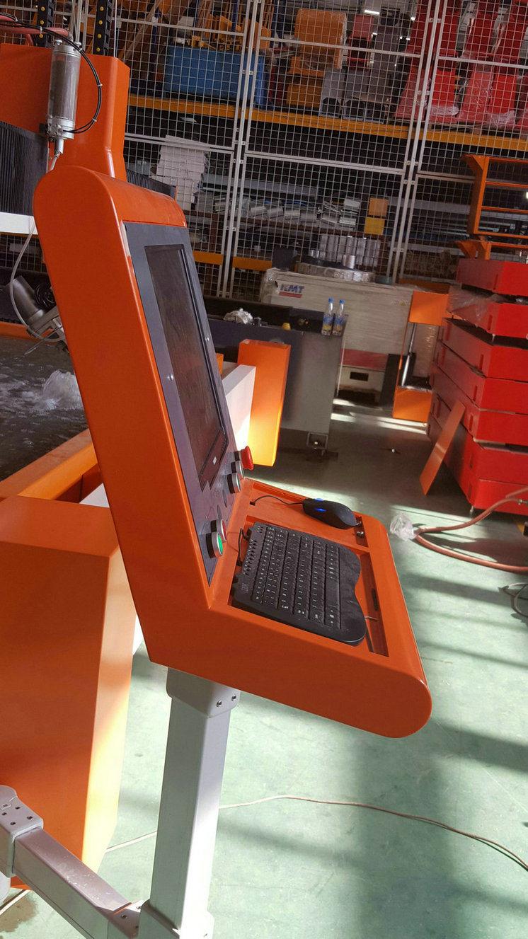 5 Axis CNC Water Jet Bevel Cutting Machine