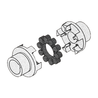 01tms Series Flexible Coupling 01tms360