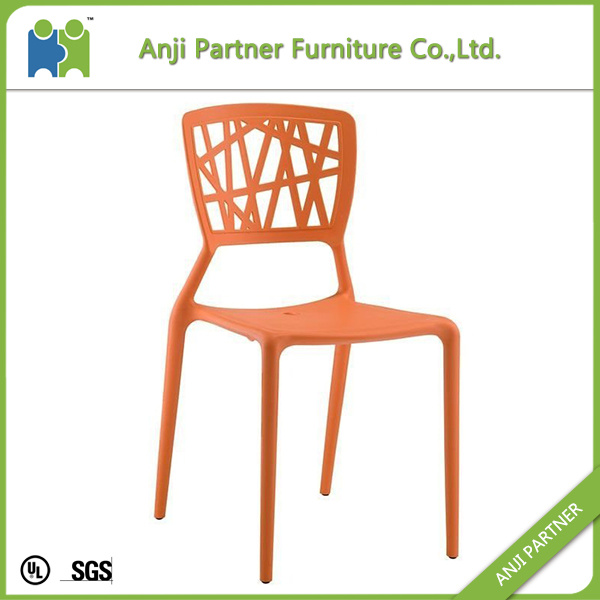 Abstractionism Design Plastic Optional Color Dining Chair (Merbok)
