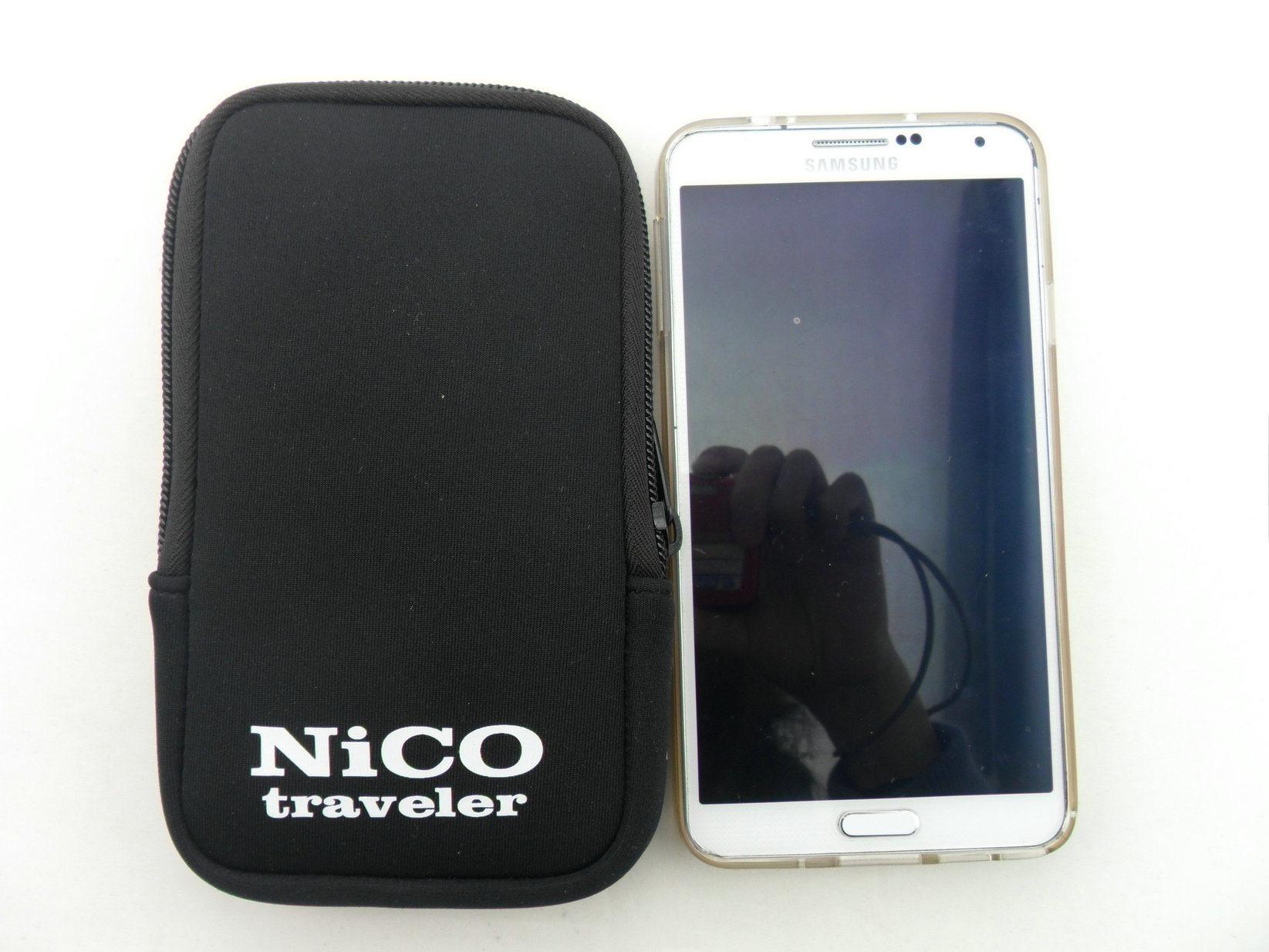 Custom Hot Design Zipper Neoprene Mobile Phone iPhone Case