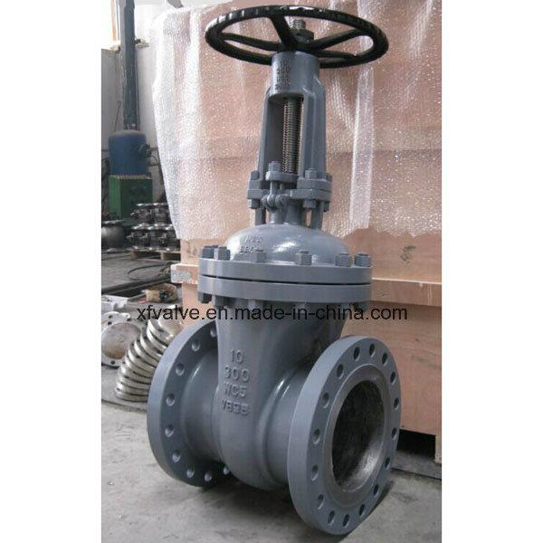 ANSI 150lb/300lb Cast Carbon Steel Wcb Flange End Gate Valve