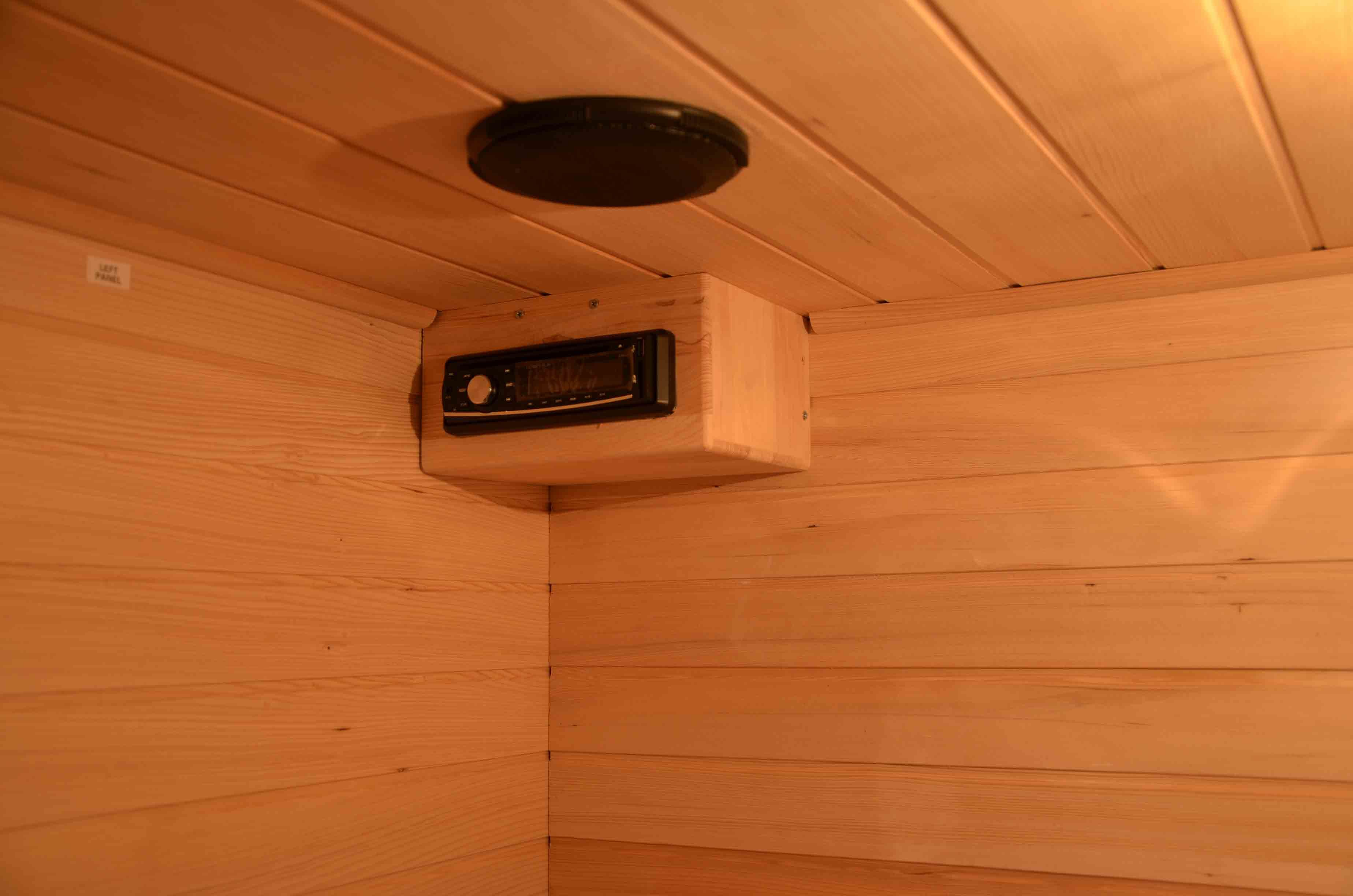 2016 New Design Far Infrared Sauna Room Hotwind Sauna for 4 People (SEK-B4)