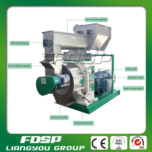 International Technology Wood Pelletizing Machine with High Capacity