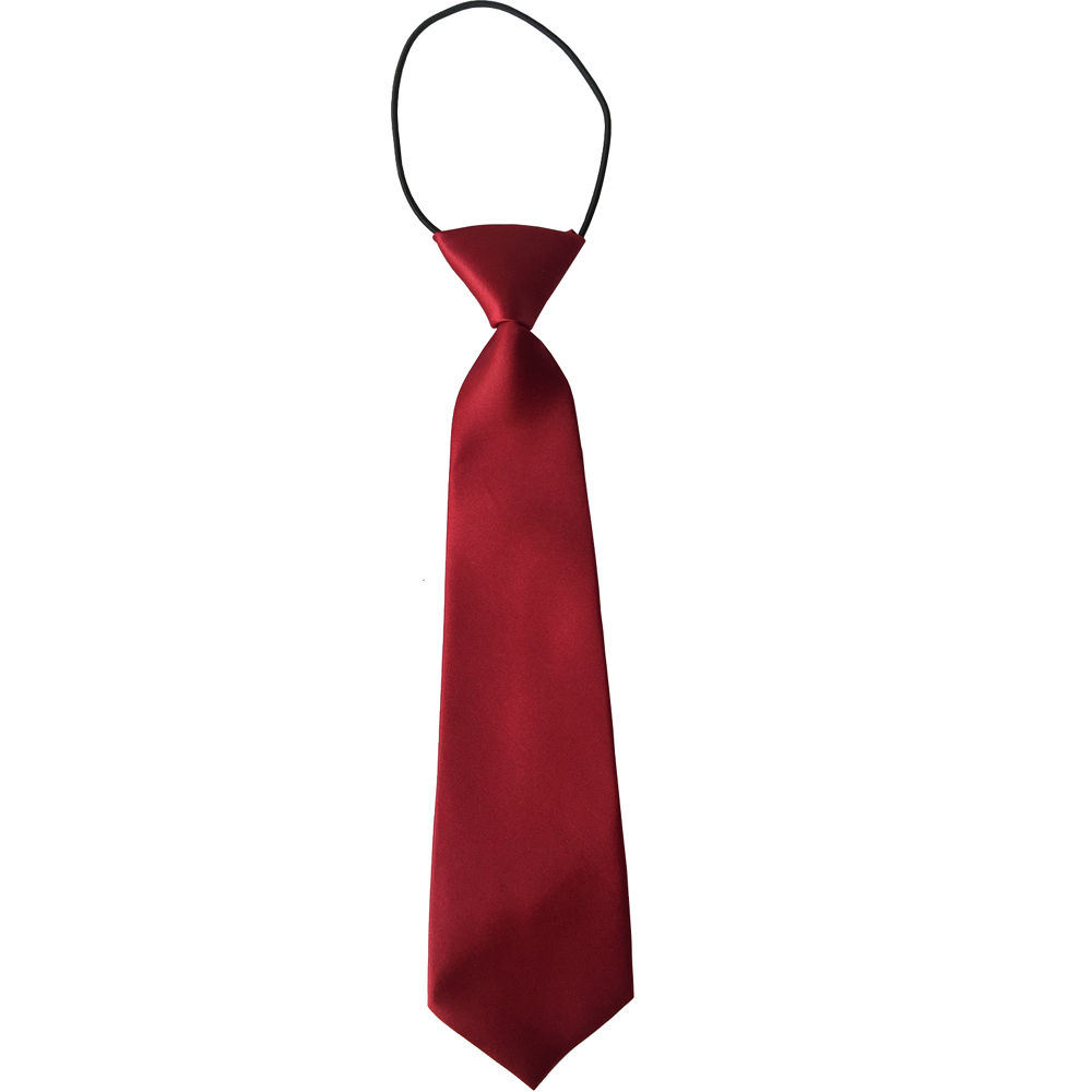 Wholesale Custom Polyester School Yellow Neckties (A392)