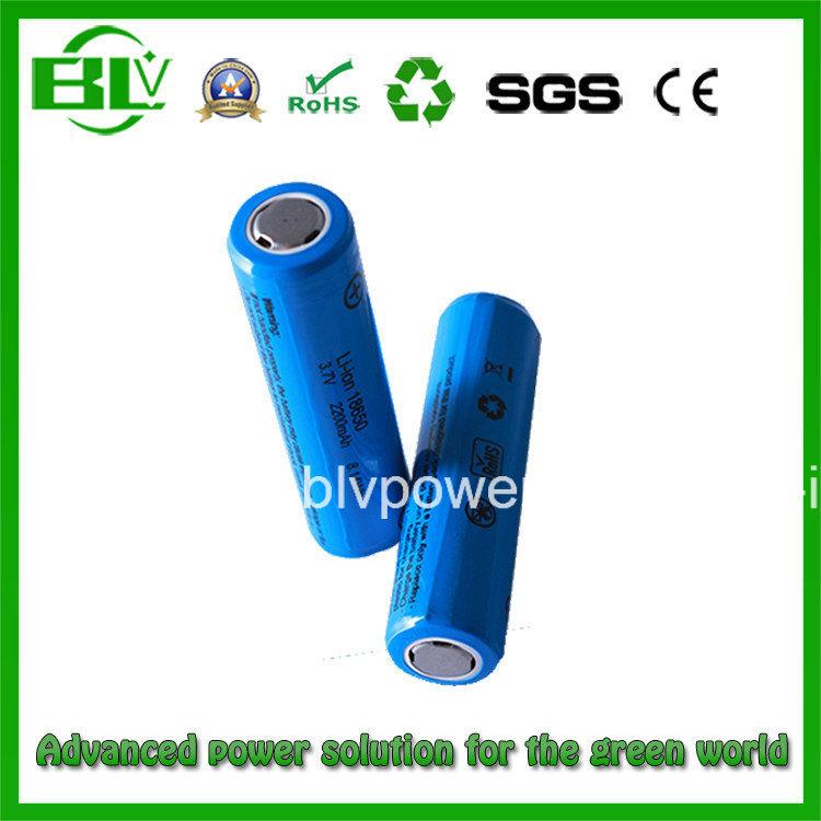 18650 Battery Cylindrical Li-ion Battery 3.7V for Flash Lights