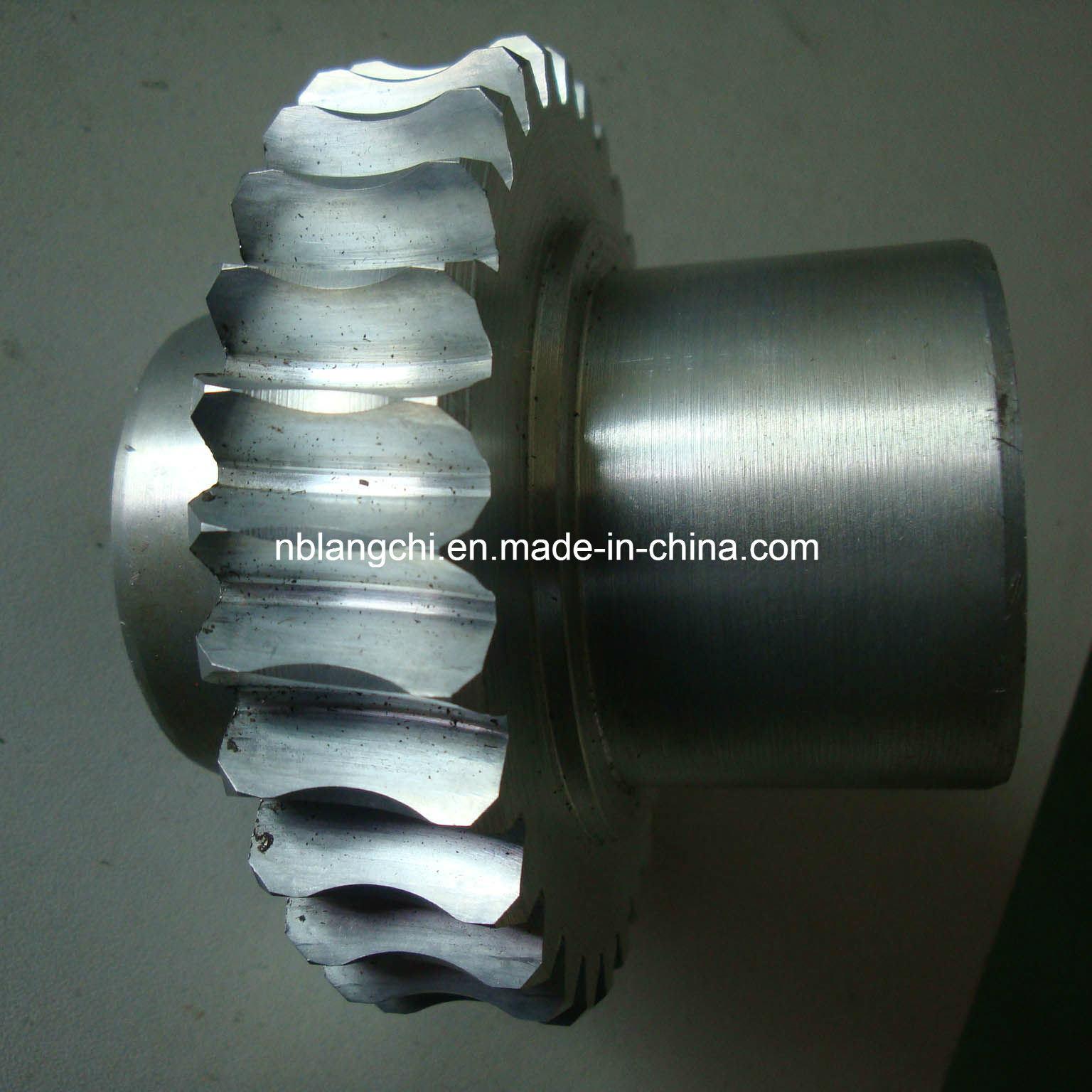Customized Trapezoidal Zinc Alloy Curved Worm Wheel Gear Nuts Tr40X7